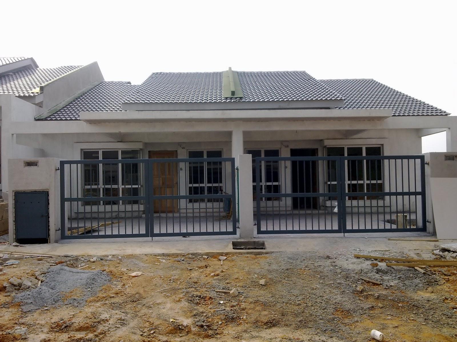 Contoh Gambar Rumah Teres | picturerumahminimalis.com