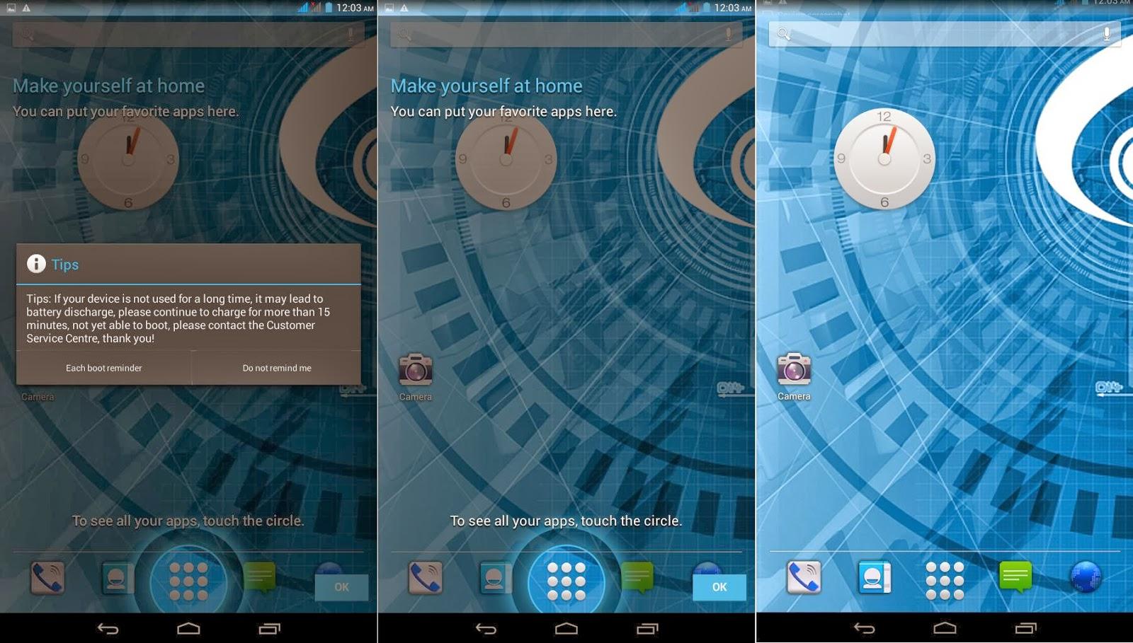 SKK Mobile Extreme Homescreen