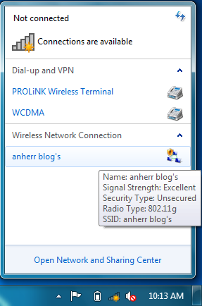 sharing koneksi internet di Kali Linux
