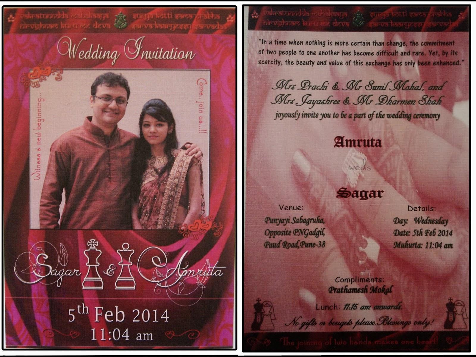 indian wedding cards wordings in marathi - 28 images - wedding card ...