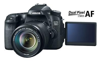 Canon EOS 70D review, dual pixel CMOS, autofocus, new DSLR camera
