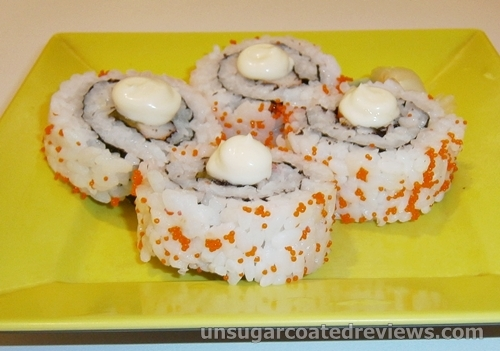 California maki roll at Moshi Moshi