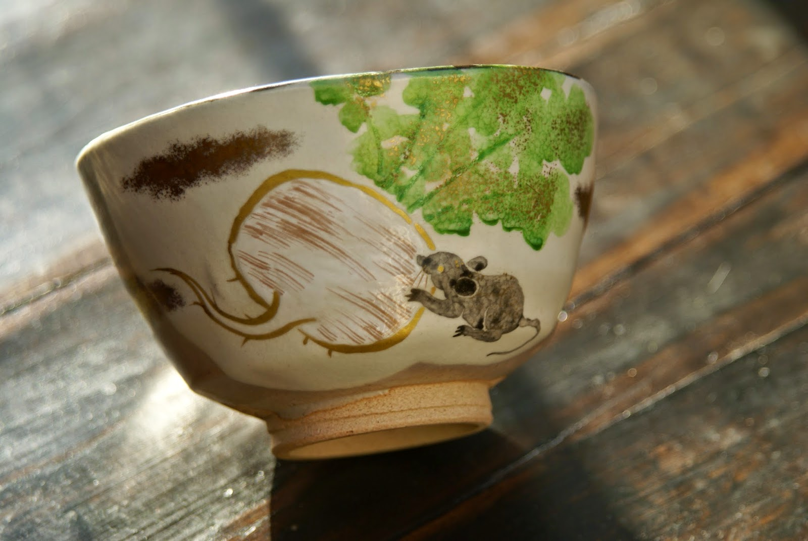 kyo yaki céramique de kyoto