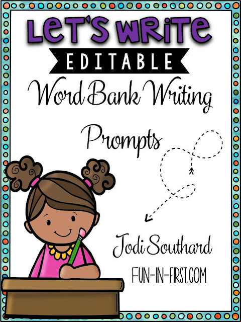 https://www.teacherspayteachers.com/Product/Writing-Prompts-with-Editable-Word-Banks-2277400