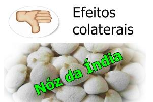 Efeitos colaterais da Noz da India