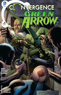 Cover of Convergence: Green Arrow #1 from DC Comics