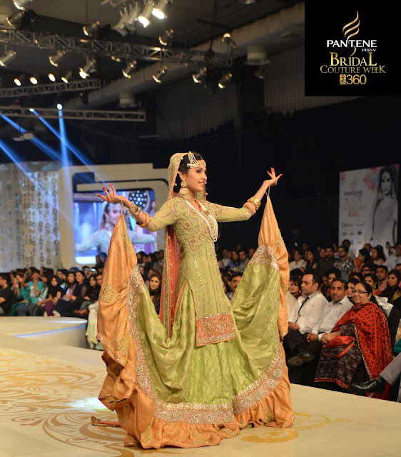 Pakistan Celebrities Pantene Bridal Couture Week 2013 Album 3