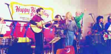 "PETE SEEGER, ""Music in the History of Struggle"", NYC, 1999"