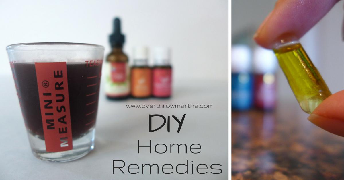 DIY home remedies using CBD and essential oils