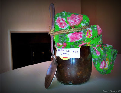 Dates Chutney in a Jar