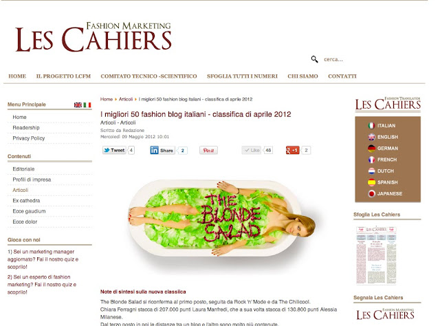  les chaiers fm, fashion marketing, amanda marzolini, italian fashion bloggers, chiara ferragni, alessia milanese, laura manfredi, the blonde salad, rocknmode, chilicool, 