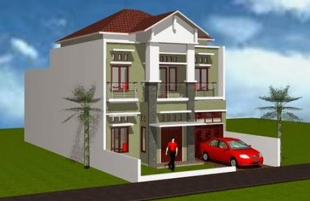 rumah minimalis bertingkat sebagai hunian nyaman di lahan