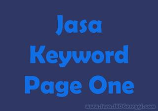 Jasa Keyword Page One