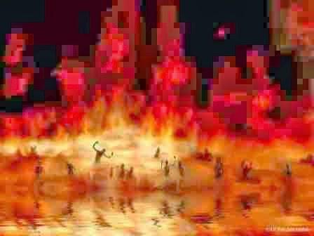 lautan neraka