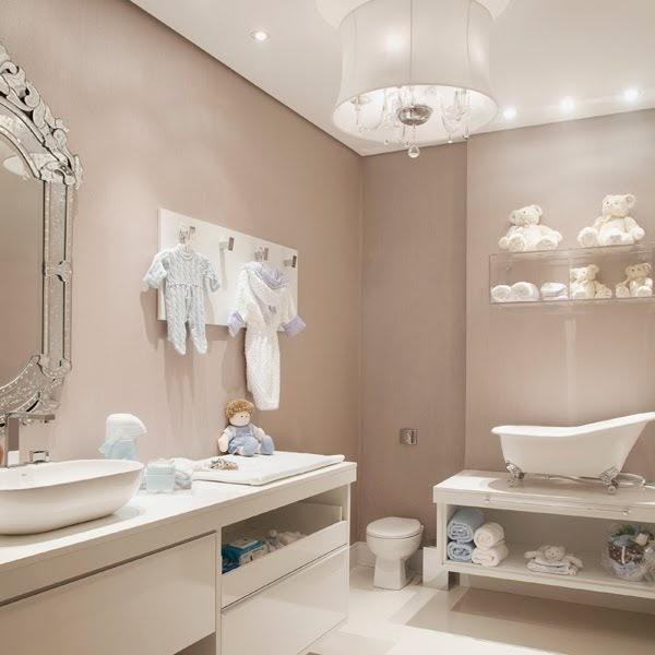 CANTINHO DE MÃE Banheiro de Luxo! -> Decoracao Banheiro Luxo