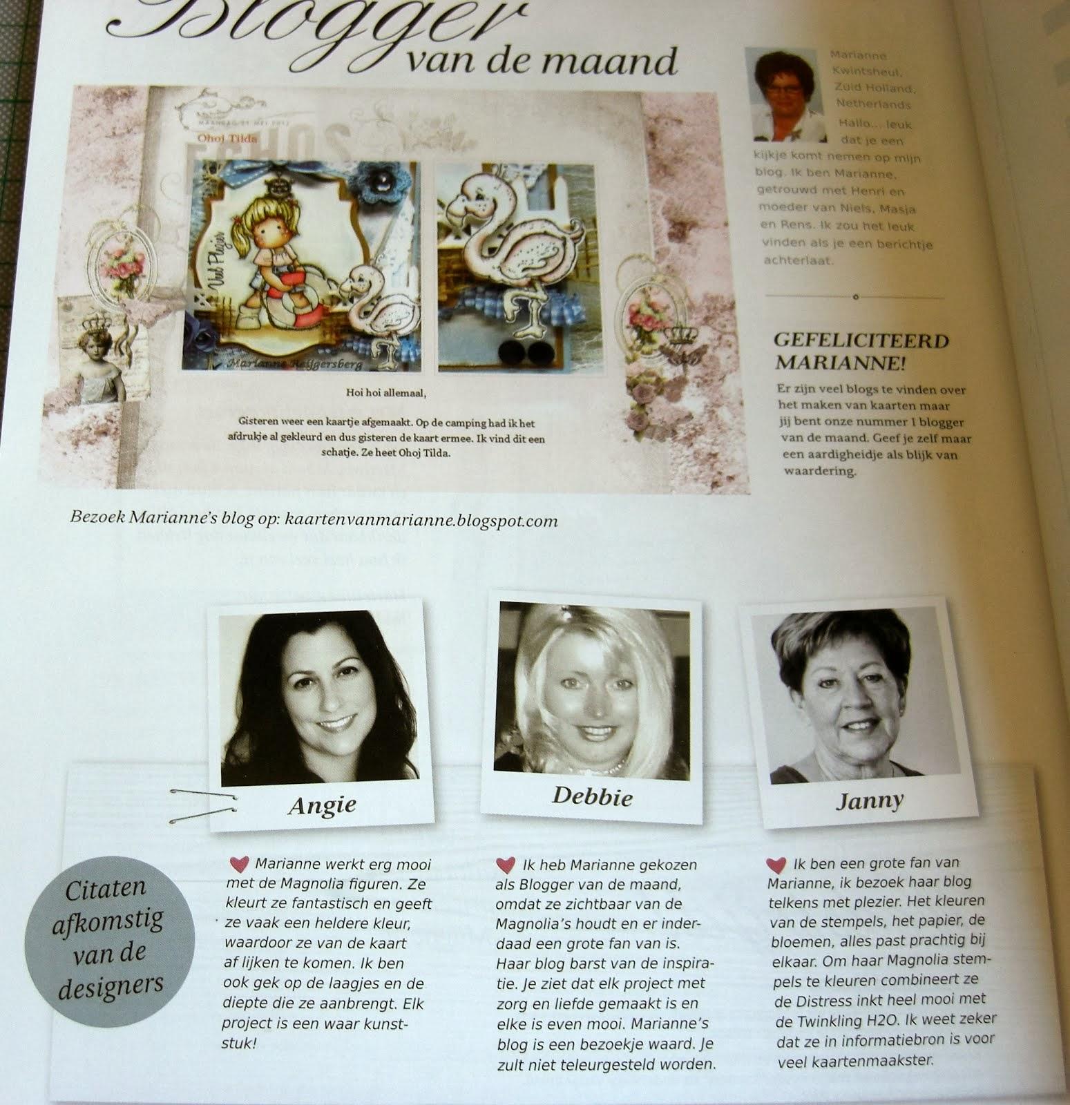 Blogger van de Maand juni 2012