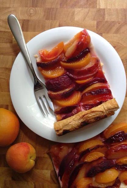 Summer Stone Fruits Tart