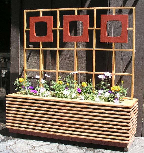 window box planter window boxes and mid century on pinterest vintage modern dollhouse furniture 1200 etsy