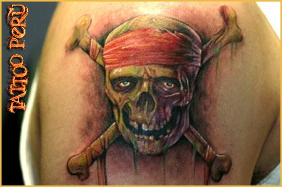 Tipos de Aros para Piercing o Perforaciones. 01_tattoo_pirata