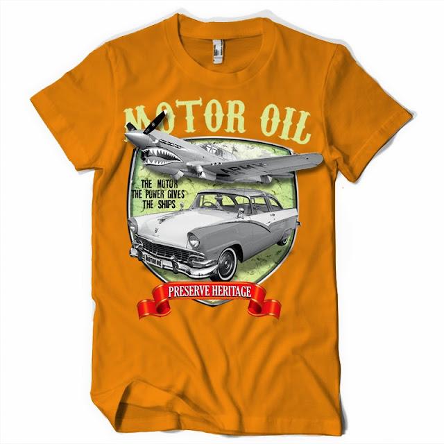 Vintage Car Tshirt