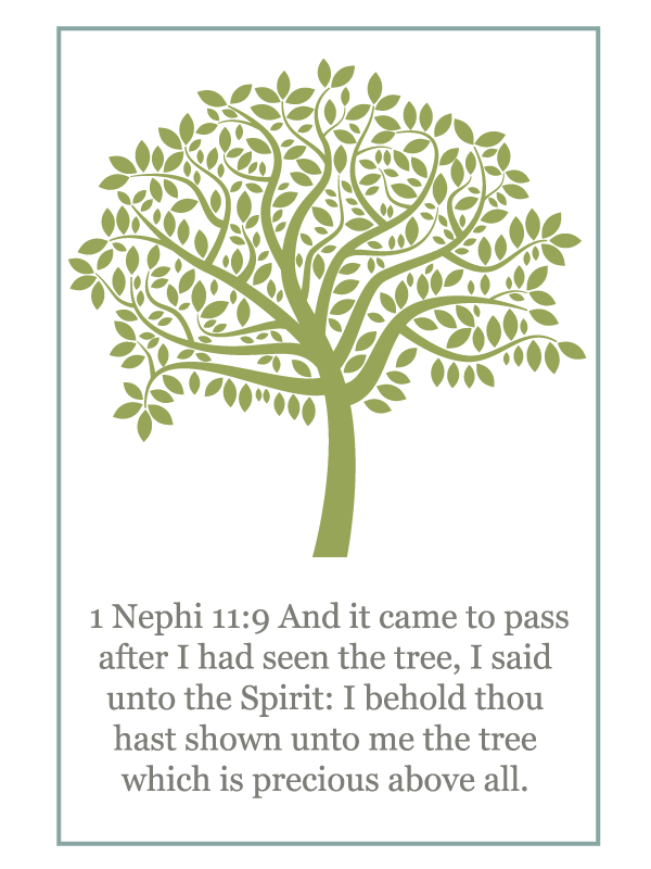 Primary Manual 4: Lesson 4, The Tree of Life Free Printable Handout