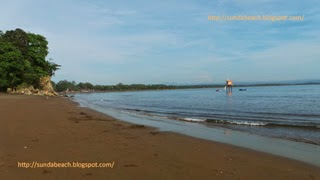 a picture of batu karas beach pangandaran west java indonesia