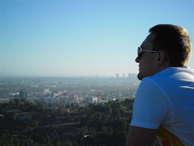 Annas Freund auf Besuch in LA