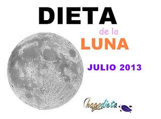 Dieta de la Luna JULIO 2013