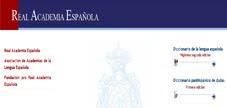 DICCIONARIO DE LA REAL ACADEMIA ESPAÑOLA (DRAE)