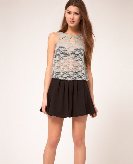 Lace Back Dress for Teens. The epitome of a perfect spring outfit, this dress is breezy and comfortable with its soft fabric and lace up back. You can dress it up, or dress it down, and wear it to any occasion.
