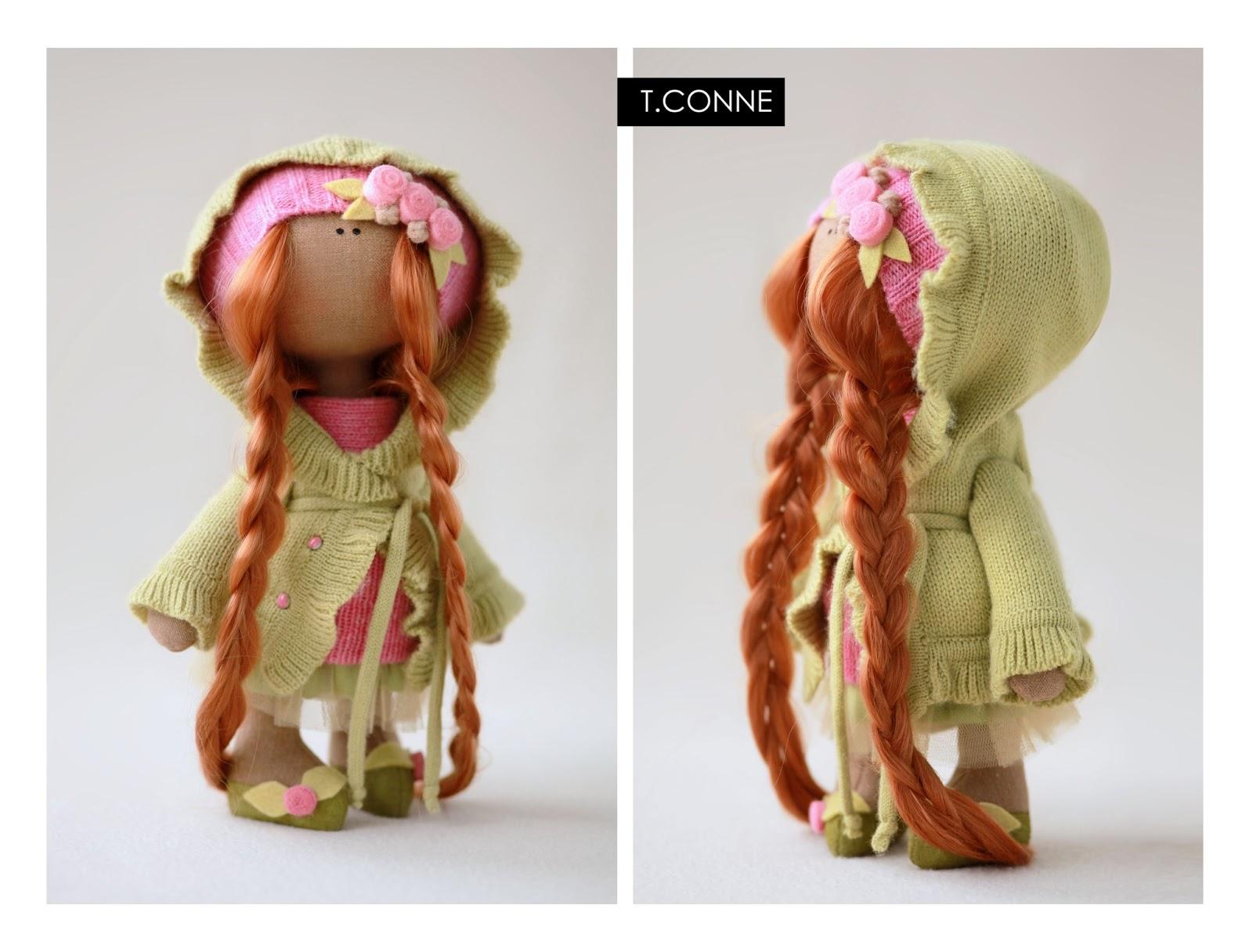 Как сшить куклу коннэ пошагово