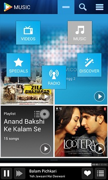 Hungama Android App for Music, Audio & Video