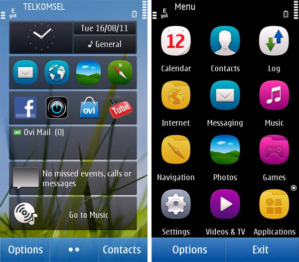 uc browser 8.5 themes