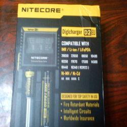 κουτί ψηφιακού φορτιστή Nitecore D2