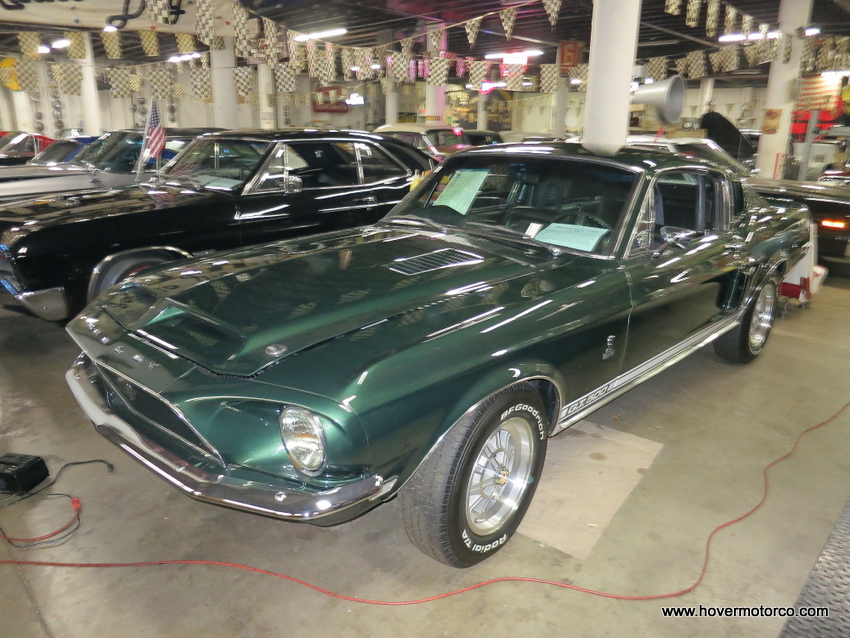 HOVER MOTOR COMPANY: The KC Classic Auto Display has cars that are ...