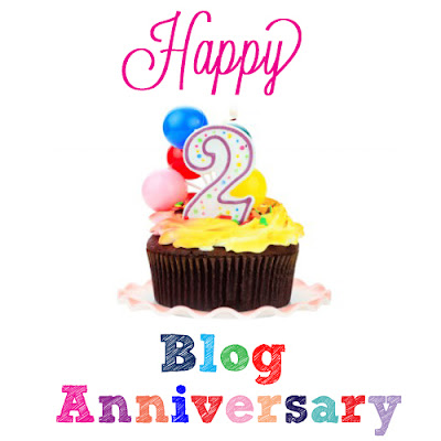 Happy Second Blog Anniversary