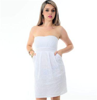 vestido branco tomara que caia para ano novo na praia - modelos e fotos