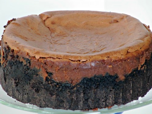 Once Upon A Chocolate Life: Triple Chocolate Cheesecake