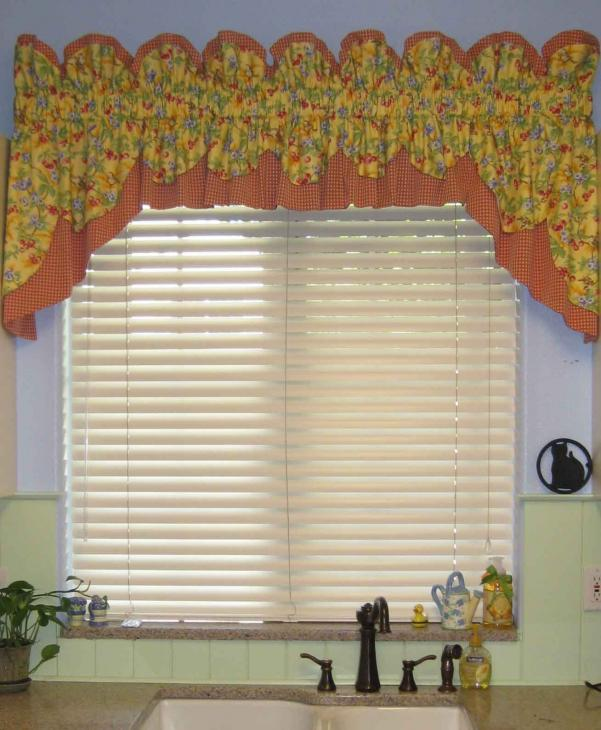 Kitchen Valance French Country