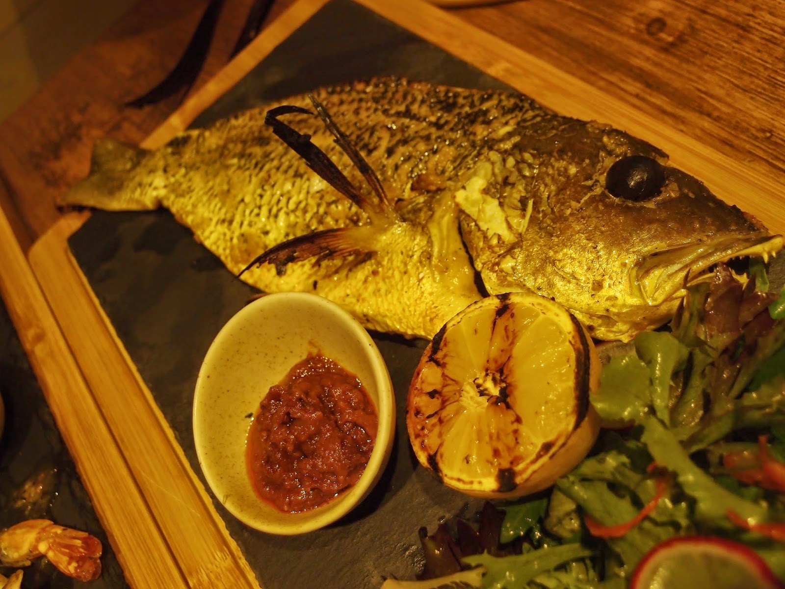 Spiced Deboned Red Snapper with Sambal Belacan