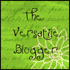 Versatile Blogger eh?