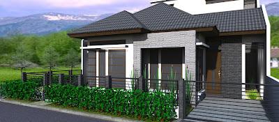 design rumah minimalis 1 lantai type 36