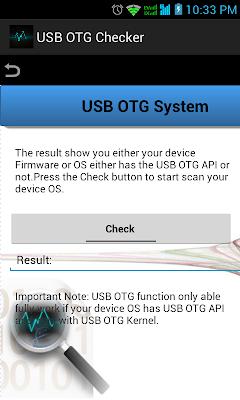 Check OTG
