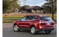 New Car with Big Cargo Capacity, 2015 Chevrolet Traverse