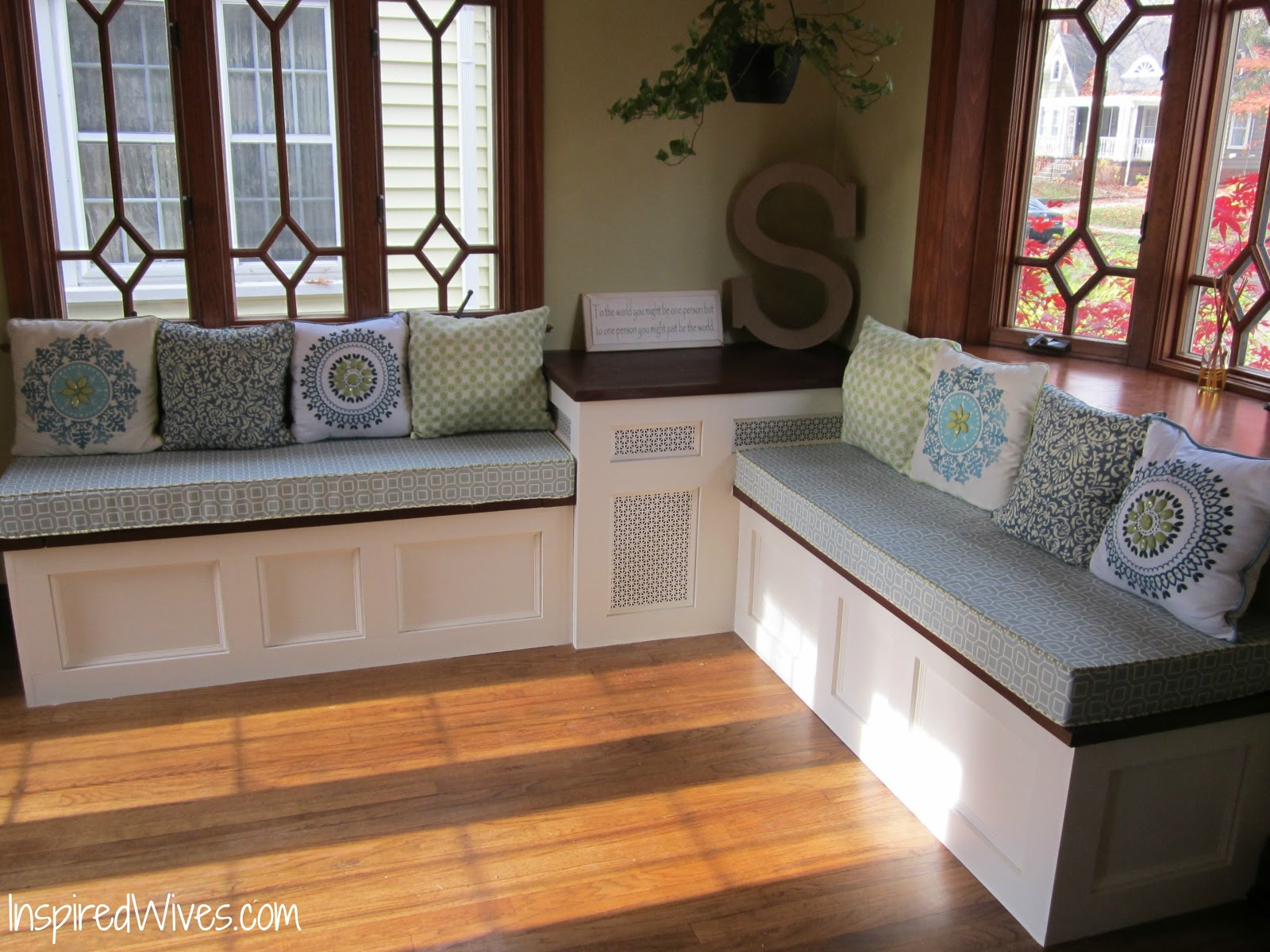 Kitchen Tables with Storage Bench