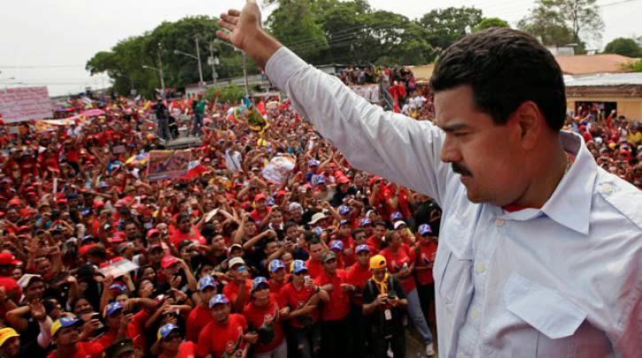 Μάθανε πως ...ζοριζόμαστε, πλάκωσε και ο Μαδούρο που καλεί τον Mr Tsipras στην Βενεζουέλα! Χαρτί υγείας να πάρεις companieros Alexis