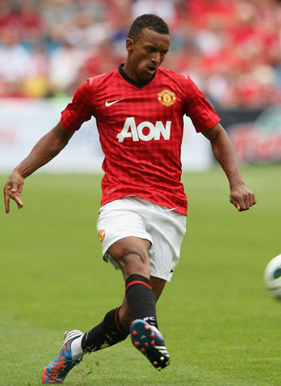 Nani Manchester United2012