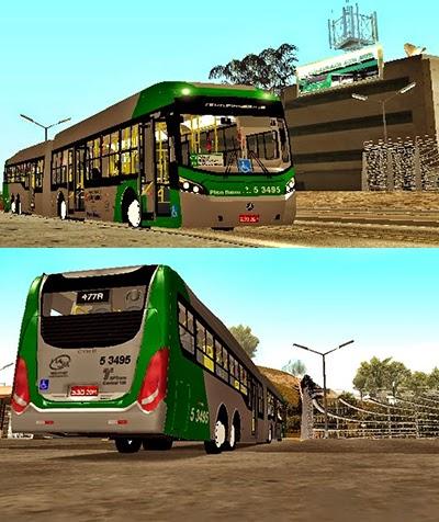 Onibus Caio Millennium BRT MBB O500UDA - VIASUL