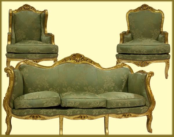 Egyptian Furniture And Antiques Sala Set