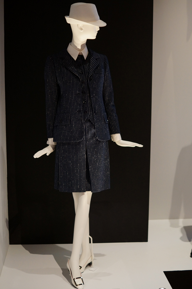Hello Freckles YSL Style Is Eternal Bowes Museum Exhibition Skirt Suit